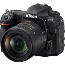 [free ongkir]Nikon D500 Body Kit DX NIKKOR 16-80mm f/2.8-4E ED VR - Black