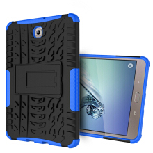RockWolf Samsung Tab S2 8 inch / T710 case TPU anti-fall colorful back clip bracket flat shell
