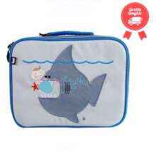 Beatrix NY Lunch Box Shark Color Grey