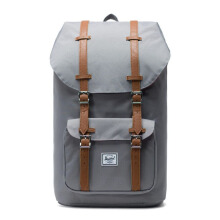 HERSCHEL Little America 10014-00006-OS - Grey/Tan Synthetic Leather
