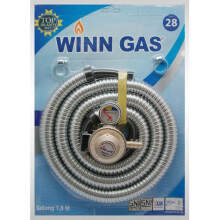 Winn Gas Paket Selang Flexi 1.8 meter + Regulator Meter-SNI