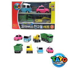 Tayo The Little Bus 4 Style Mini Cars 2 Original - Iconix
