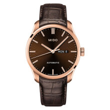 Mido M024.630.36.291.00 Belluna II Automatic Brown Dial Brown Leather Strap [M024.630.36.291.00]