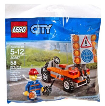 LEGO City Road Worker 30357