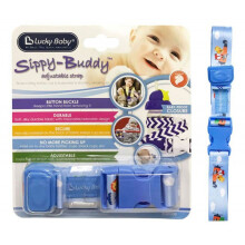 Lucky Baby Sippy Buddy Adjustable Strap - Airplane