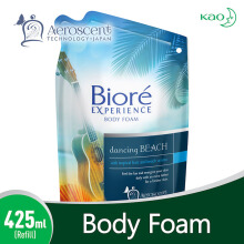BIORE Body Foam Dancing Beach Pouch 425 ml