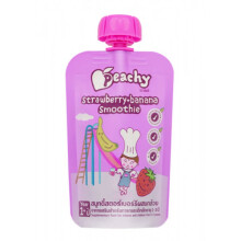 Peachy Strawberry & Banana Smoothie 100gr - 12m+