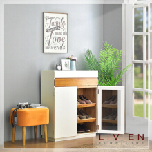 LIVIEN FURNITURE - Rak Sepatu - MADELINE SHOES RACK CABINET