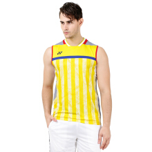 YONEX Lee Chong Wei Sleeveless Top Badminton Tournament - Light Yellow