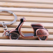 Farfi Classic 3D Motorcycle Scooter Pendant Keyring Keychain Key Chain Creative Gift