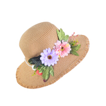 SiYing Wild Lady Travel Beach Sunscreen Foldable Sun Hat