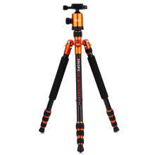 MT258A 64.6 inch Lightweight Tripod Monopod with 1/4 Screw  -Orange