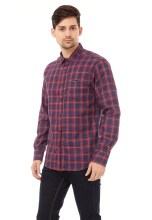 COTTONOLOGY Men's Shirt Lyon Long Blue