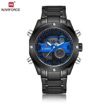 NAVIFORCE Fashion Luxury Brand Sports Watches Men Digital Quartz Watch Mens Waterproof Wristwatches Relogio Masculino