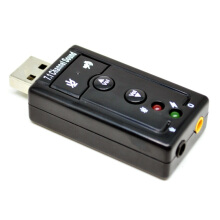 Taffware USB 7.1 Channel Sound Card Adapter
