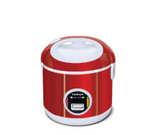 Sanken SJ-200 Rice Cooker - Red [1 L] Red