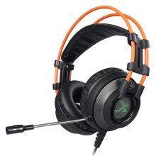 XIBERIA K9D Music Stereo Gaming Headphone Headset Noise Cancelling Headband iron-gray