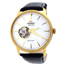 Orient Classic Automatic FDB08003WO Men White Dial Black Leather Strap [FDB08003WO]