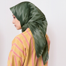 IKAT Indonesia Aleeyah Scarves Green