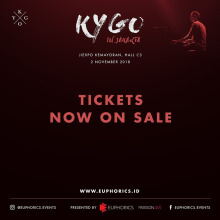 KYGO IN JAKARTA 2018 - GENERAL ADMISSION  (THIS EVENT IS STRICTLY 18+ ONLY)