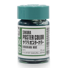 SAKURA Xpw15-031 Poster Color 15ml Viridian Hue