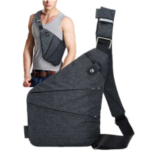 YOOHUI Burglarproof Shoulder Bag Holster Anti Theft Security Strap Digital Storage Chest Bags