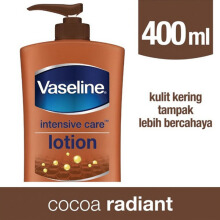 VASELINE Intensive Care Cocoa Radiant Hand & Body Lotion 400ml