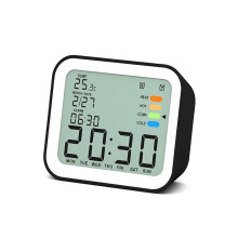 JDWonderfulHouse Loskii DC-13 Digital Alarm Clock Black Optional Snooze Function Travel Clock Home Travel
