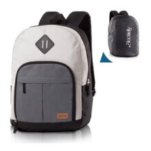 BLACKKELY - TAS RANSEL / BACKPACK KASUAL PRIA - LJB 319  - GREY