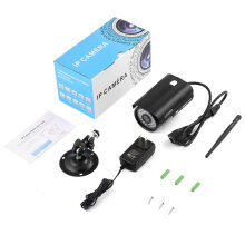 LESHP HW24 1080P 2.0 MP CMOS Sensor With WIFI IP Camera for Home Security Black