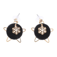 VOITTO Earrings - V21 Black Stars