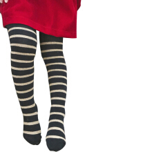 SiYing fashion Horizontal striped thin cotton girls bottoming socks