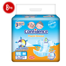 CONFIDENCE Adult Premium [M] Carton 15's x 8 bag