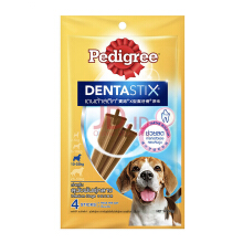 PEDIGREE Dentastix Medium Dogs 98gr Perawatan Gigi Anjing - 4 Sticks [1 Pack]