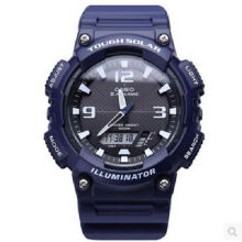 Casio AQ-S810W-2A2 Sports double display waterproof electronic watch-Blue
