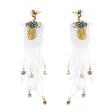 VOITTO Earrings - V43 White Pineapple