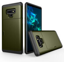MOONMINI Dual Layer TPU + PC Hybrid Cover Shockproof Anti-scratch Protective Shell for Samsung Galaxy Note 9