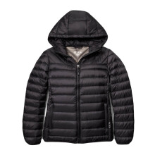 TUMI Pax Outwear Estes Hooded Jacket - Black