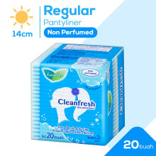 LAURIER Pantyliner Cleanfresh Non Parfum 20's