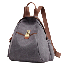SiYing Korean version of the retro casual canvas female student backpack