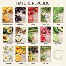 Cosmo beauty - NATURE REPUBLIC Real Nature Mask - Bamboo