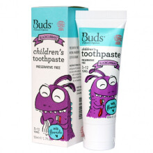 [free ongkir]Buds Children's Toothpaste  50ml (3 - 12 Year) - Blackcurrant