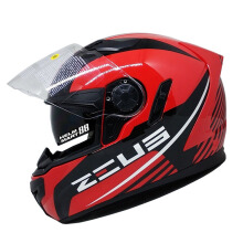 ZEUS ZS-813 AN9 - Helm Full Face - Dred/Black