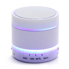 Vinmori S09 outdoor wireless Bluetooth speaker portable subwoofer music player with LED lights support SD card, TF card