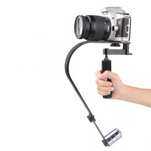 Vodool Handheld Curve Stabilizer Multifungsi for GoPro / DSLR / iPhone Black