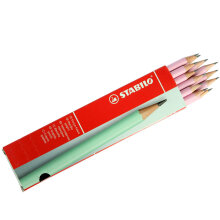 STABILO Schwan Pencil 2B Pastel - Rose (1 Pack isi 12 Pieces)