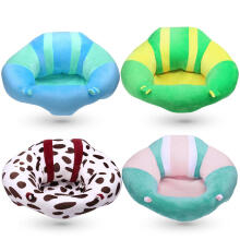 Cartoon Animal Baby Feeding Seats Sofa Infant Soft Car Travel Sit Support Filler Plush Chair