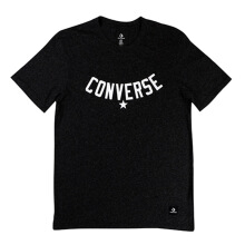 CONVERSE Essentials Supima Cotton Graphic Tee - Black Heather