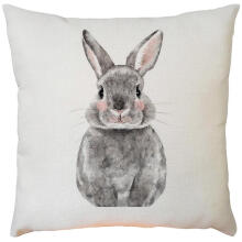 paisiapEaster Sofa Bed Home Decoration Festival  Rabbit Pillow Case Cushion Cover_Multicolor Others