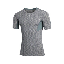 SBART Men Cool Dry Body Shaper Compression T Shirt Training Tee Running Fitness Gym Tight Tops